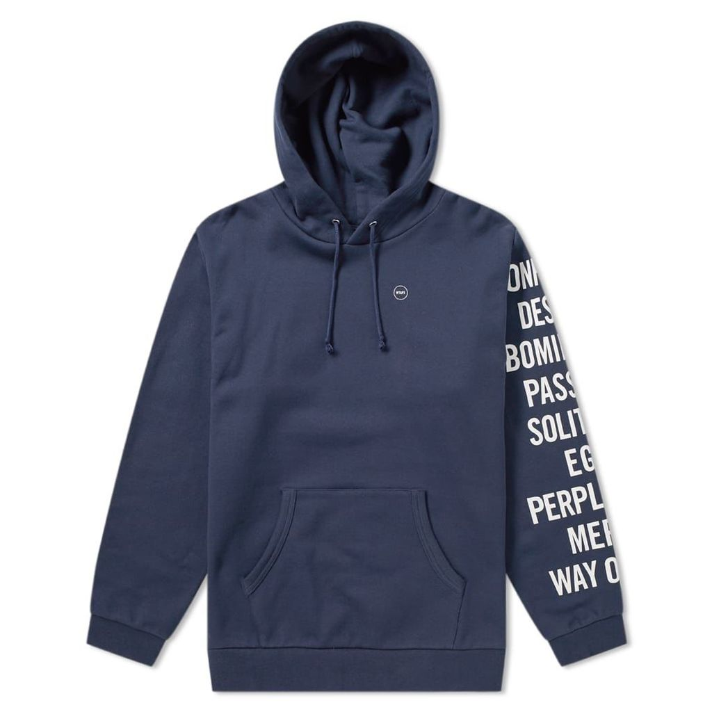 WTAPS Ingredients Hoody Navy