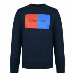 Calvin Klein Menswear Two Tone Logo Sweatshirt