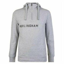 Hurlingham Polo 1875 Quarter Zip Hooded Sweatshirt