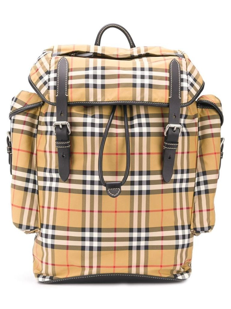 Burberry Vintage Check backpack - Brown