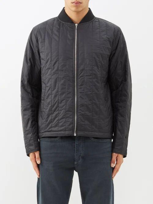 Lanvin - Slim Leg Cotton Trousers - Mens - Black
