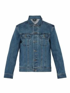 A.p.c. - Washed Denim Jacket - Mens - Indigo
