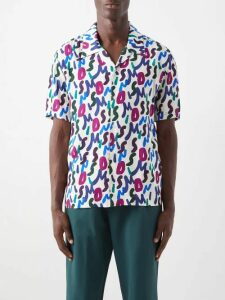 Marcelo Burlon - Boston Celtics Appliqué Cotton Hooded Sweatshirt - Mens - Light Grey