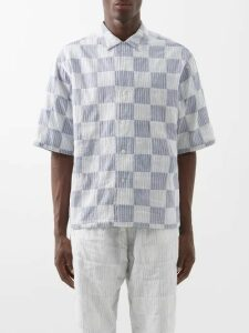 Isabel Marant - Miley Logo Embossed Cotton Blend Sweatshirt - Mens - Grey