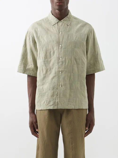 Loewe - Fisherman Mid Rise Straight Leg Jeans - Mens - Blue
