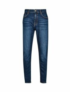 Mens Mid Blue Carrot Fit Jeans, MID BLUE