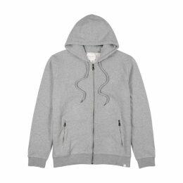 Derek Rose Grey Mélange Cotton Sweatshirt
