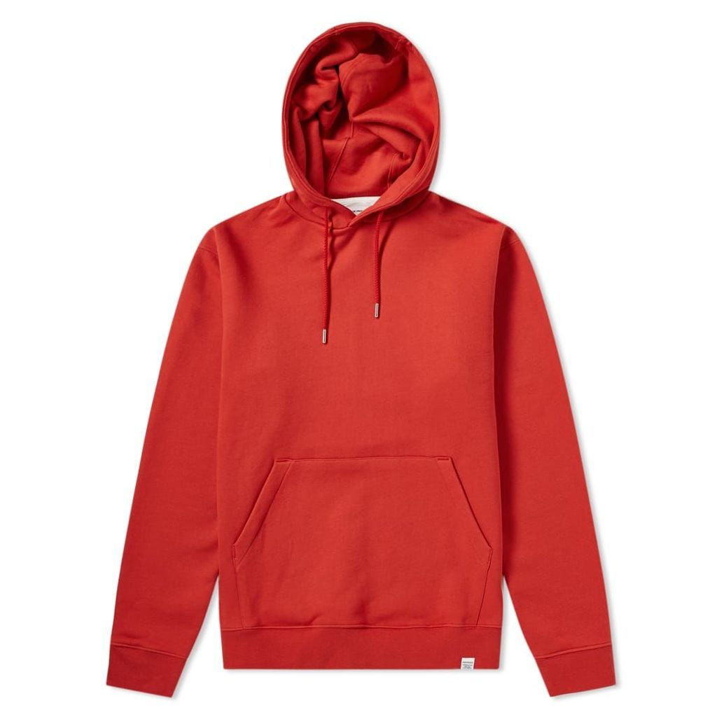 Norse Projects Vagn Classic Hoody Askja Red