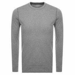 Under Armour Fitted Crew Neck Sweatshirt Grey