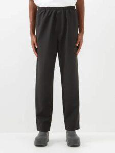 Balenciaga - Straight Leg Chino Trousers - Mens - Green