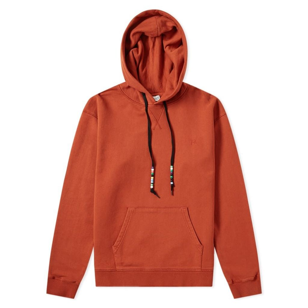 JW Anderson Beaded String Popover Hoody Saffron
