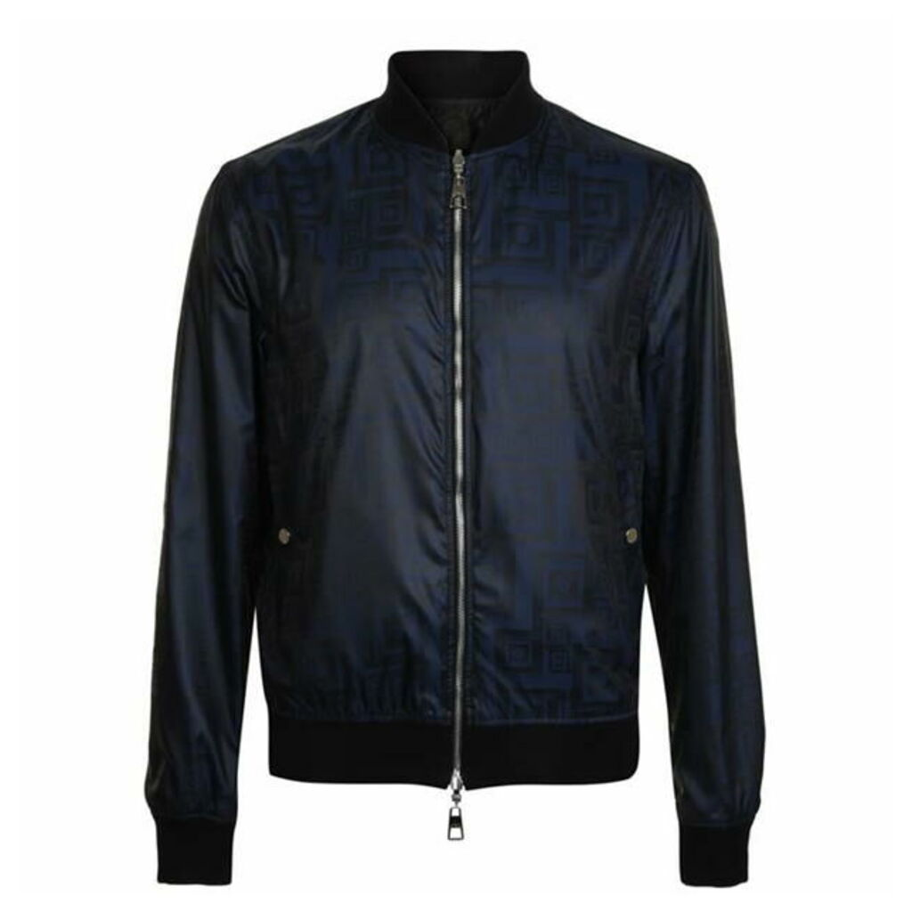 VERSACE COLLECTION Reversible Printed Bomber Jacket