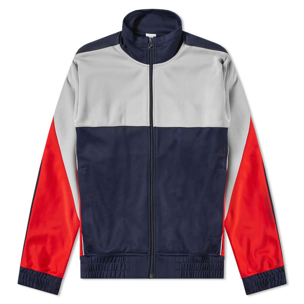Nike x Martine Rose K Track Jacket Blackened Blue & Grey