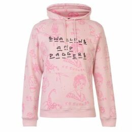 Swallows and Daggers All Over Print Hoodie