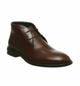 Ask the Missus Input Chukka BROWN LEATHER