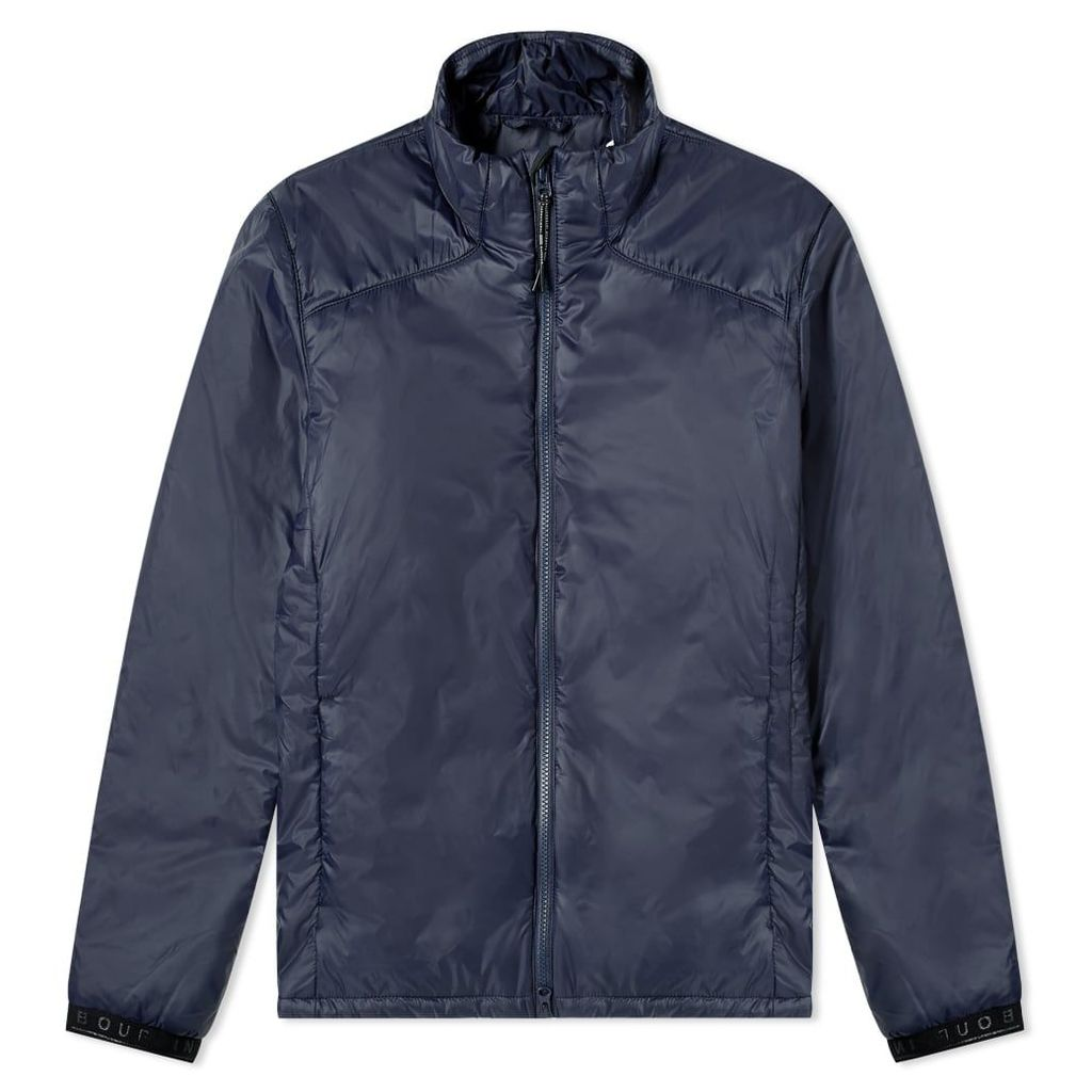 Barbour International Pathside Quilted Jacket Navy