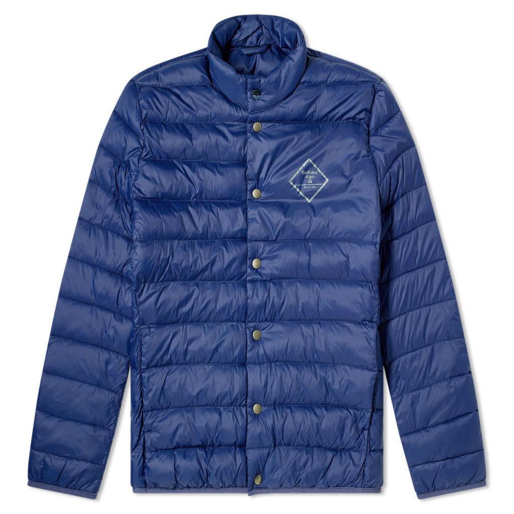 Barbour Sergeant Quilted Jacket Regal Blue