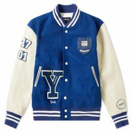 Calvin Klein 205W39NYC Yale Varsity Jacket Blue Ice