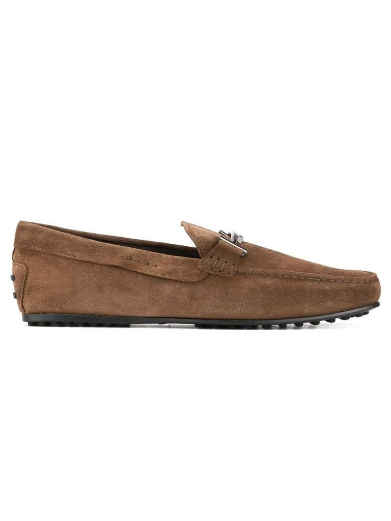 Tod's Gommino driving loafers - Brown
