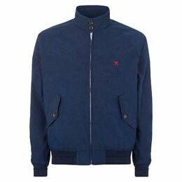 Hackett London Harry Classic Harrington Jacket, Navy