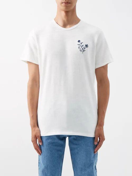 Isabel Marant - Lekson Double Buckle Leather Slides - Mens - Brown