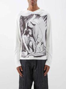 Prada - Roll Neck Geometric Jacquard Knit Sweater - Mens - Black Multi