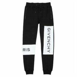 Givenchy Black Logo Cotton Sweatpants