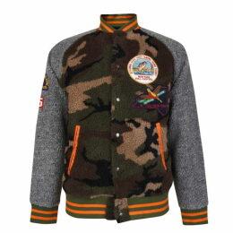 Polo Ralph Lauren Camouflage Fleece Bomber Jacket