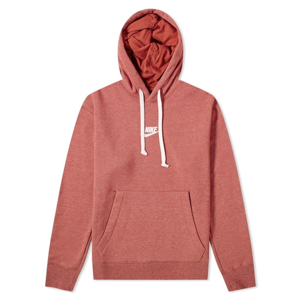 Nike Heritage Pullover Hoody Orange, Heather & Sail