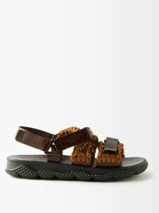 Prada - Sailboat Intarsia Wool Blend Sweater - Mens - Blue