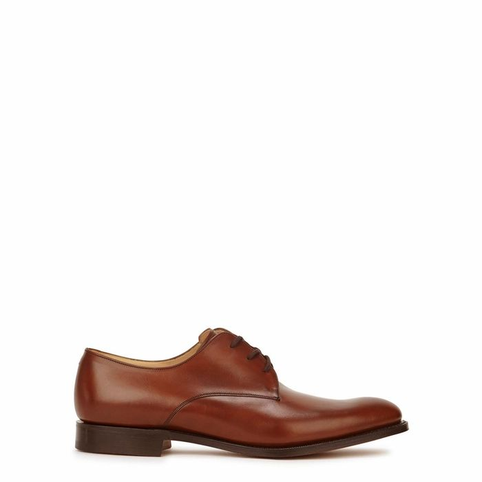 Church's Oslo Brown Leather Derby Shoes