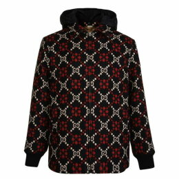 Gucci Marco Gg Diamond Wool Jacket