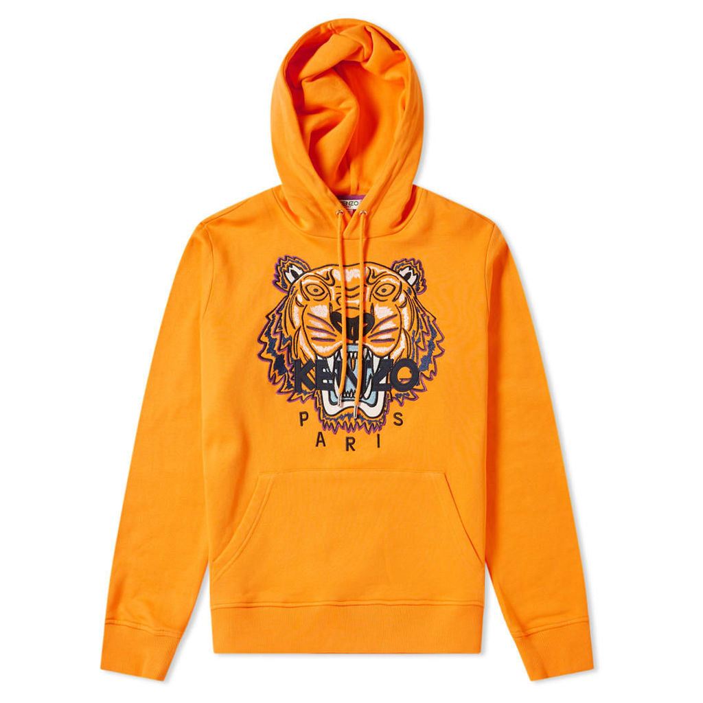 Kenzo Tiger Popover Hoody Medium Orange