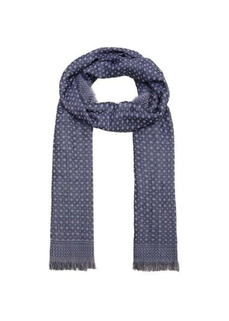 Mosaic pattern scarf