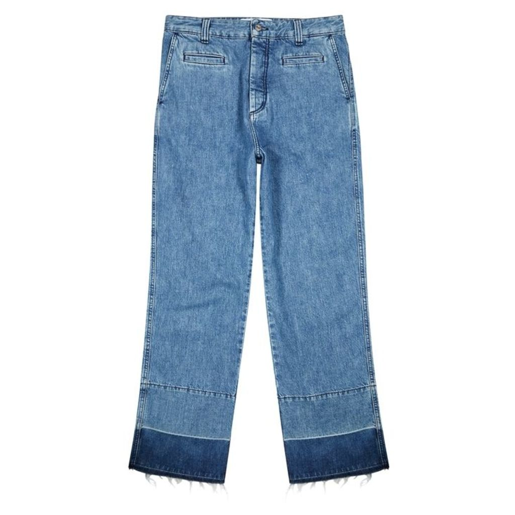 Loewe Fisherman Blue Relaxed Jeans