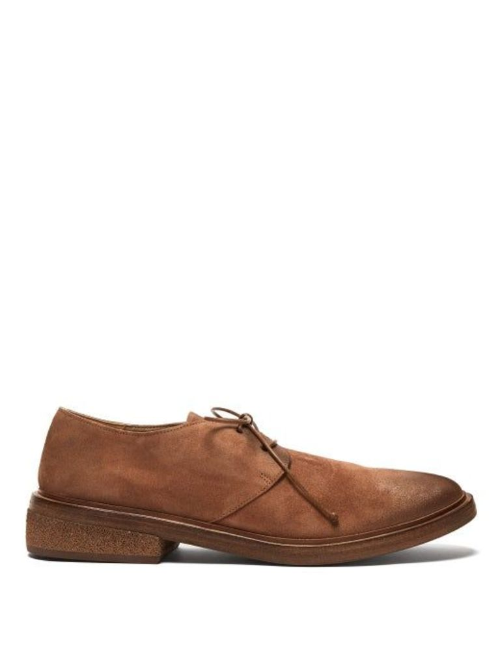 Marsèll - Suede Derby Shoes - Mens - Brown