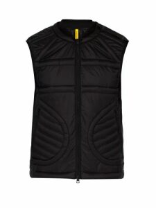 5 Moncler Craig Green - Keops Quilted Down Filled Gilet - Mens - Black