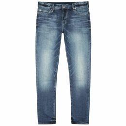 True Religion Tony Blue Skinny Jeans