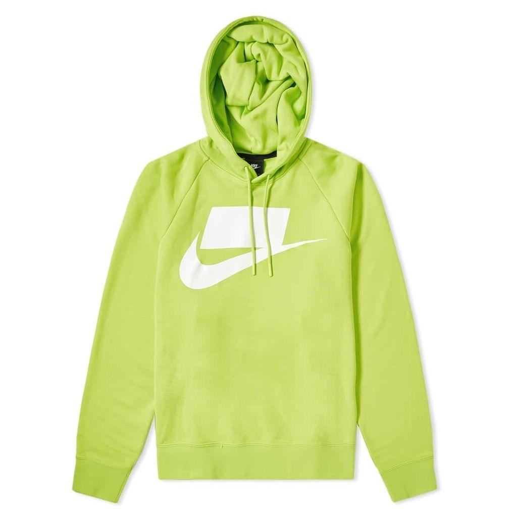 Nike NSW Block Futura Popover Hoody Cyber & White