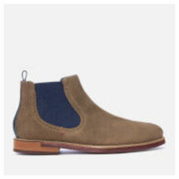 Ted Baker Men's Secaint Suede Chelsea Boots - Grey