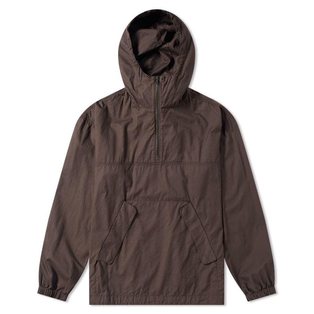 Wood Wood Laszlo Popover Jacket Dark Grey