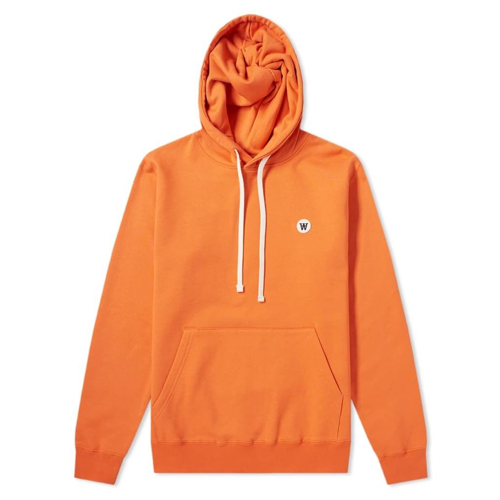 Wood Wood Ian Hoody Orange