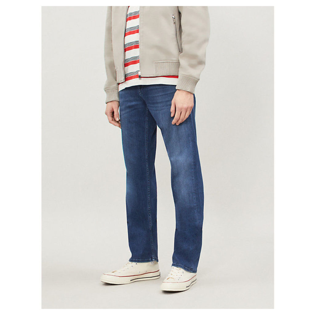 Standard Luxe Performance regular-fit straight jeans