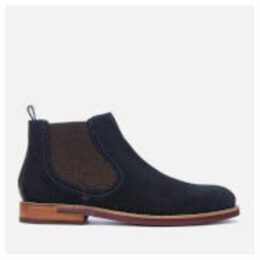 Ted Baker Men's Secaint Suede Chelsea Boots - Dark Blue - UK 7 - Blue