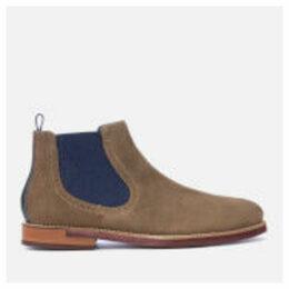 Ted Baker Men's Secaint Suede Chelsea Boots - Grey - UK 11 - Grey