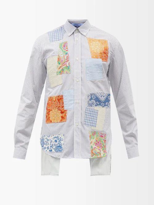Rivieras - Hacienda Contrast Weave Suede Loafers - Mens - Brown