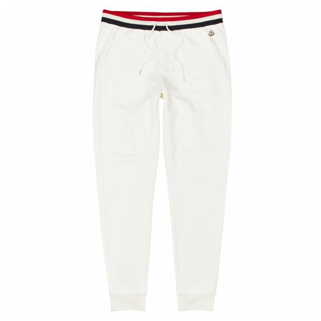 Moncler Off-white Cotton Sweatpants