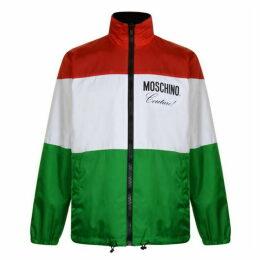 Moschino Reversible Italian Logo Jacket