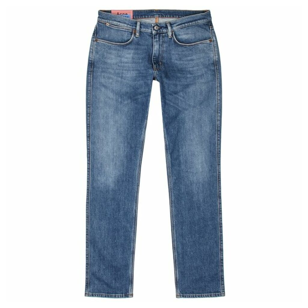Acne Studios Max Blue Slim-leg Jeans