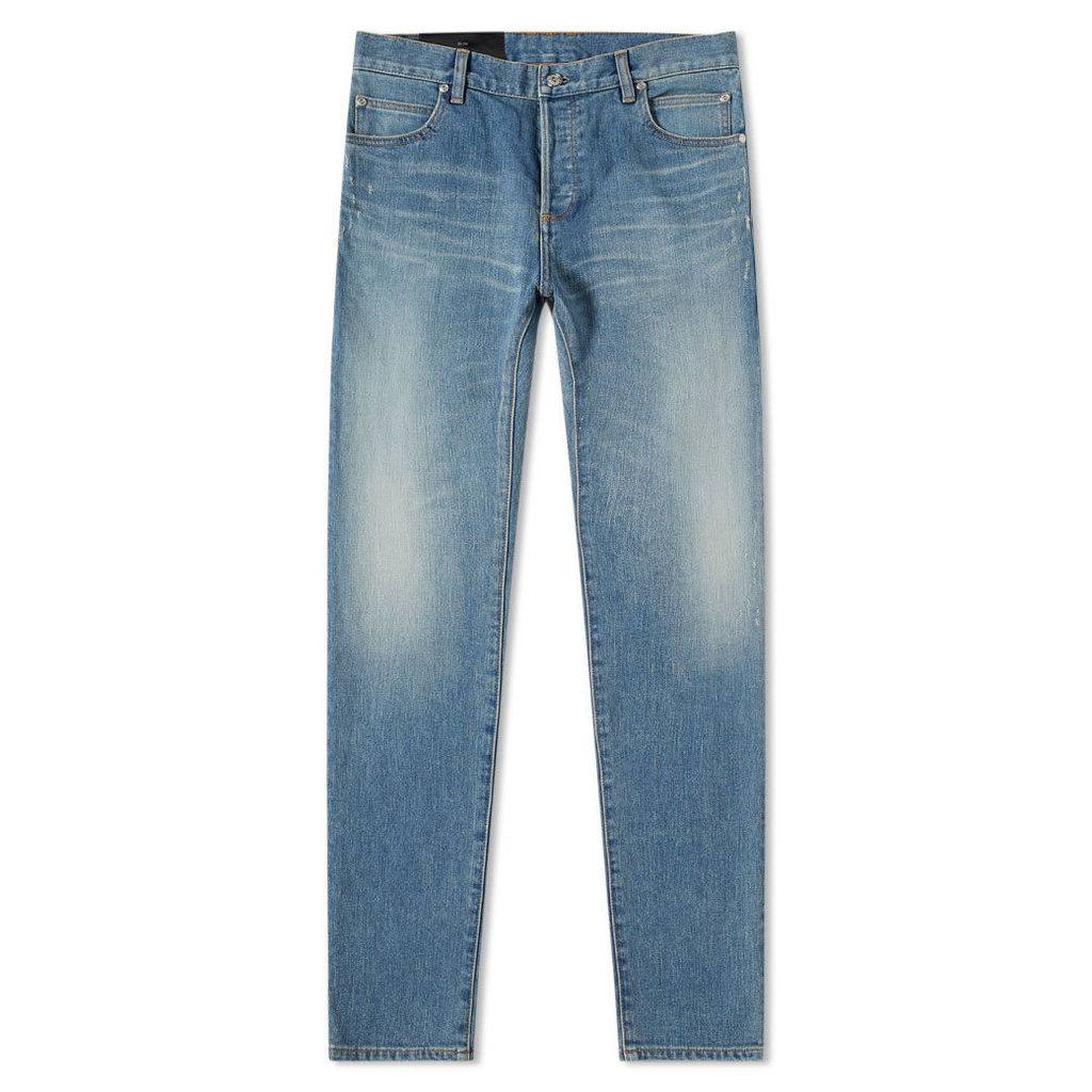 Balmain Slim Fit Jean Light Blue
